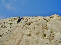 Great single pitch climbing in Spain on the Costa Blanca