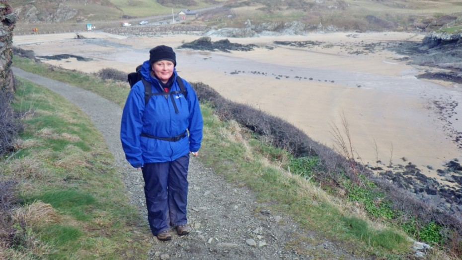 Anglesey Coastal Path at Porth Dafarch. A beautiful little bay.