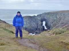 Anglesey-Coastal-path walking around Abrahams Bosom area