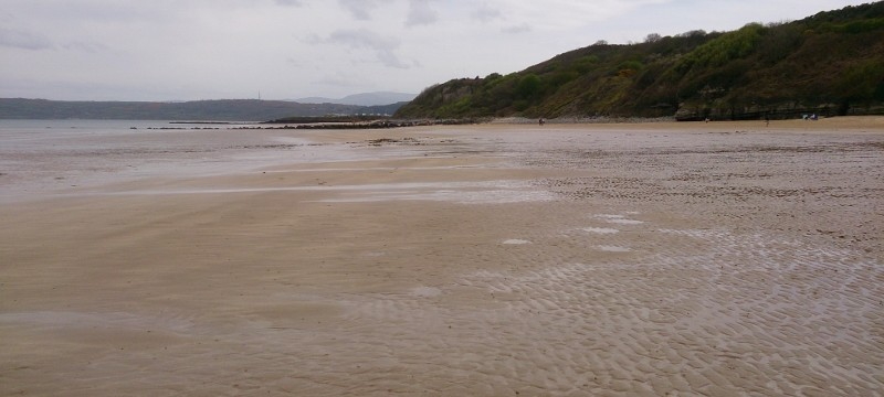 Anglesey Coastal path with the beach at Benllech such a beautiful beach at Benllech