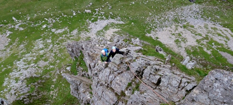 A great day out scrambling in Snowdonia with Mountaineering Joe
