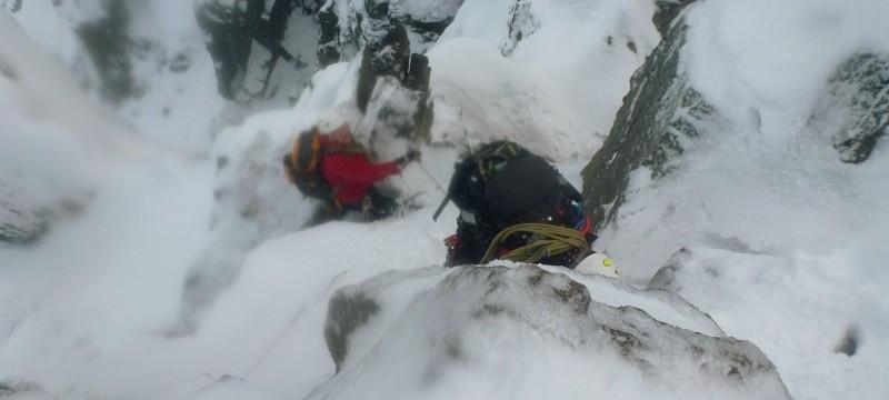 Bristly Ridge Sinister Gully