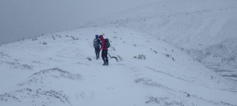 Winter navigation across the cairngorms