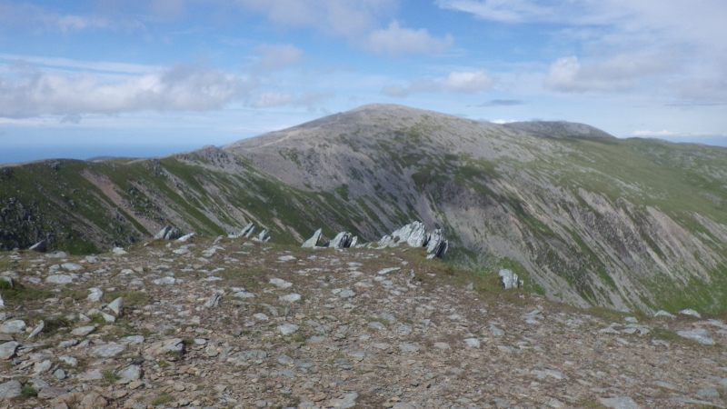 Walking across the Carneddau in Snowdonia with Mountaineering Joe