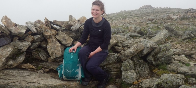 Welsh 3000s 14 peaks On the summit of Y Garn