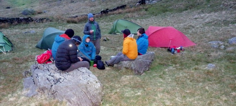 Wild camping in Snowdonia A great time remote wild camping with out in Snowdonia  with Mountaineering Joe