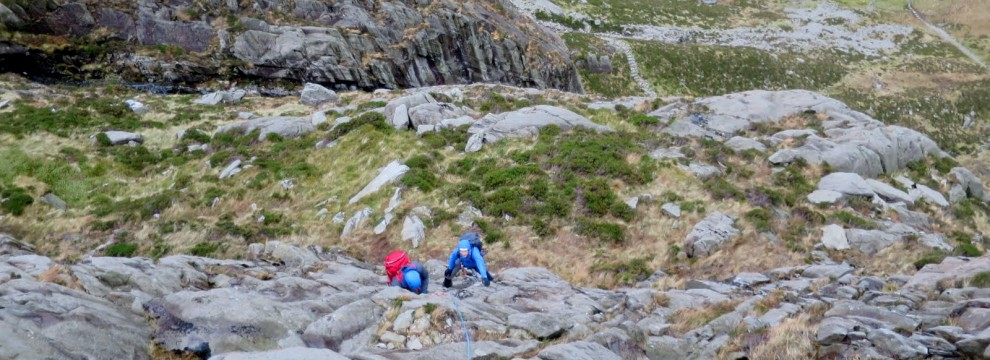 Rock scrambling is a great extension to walking