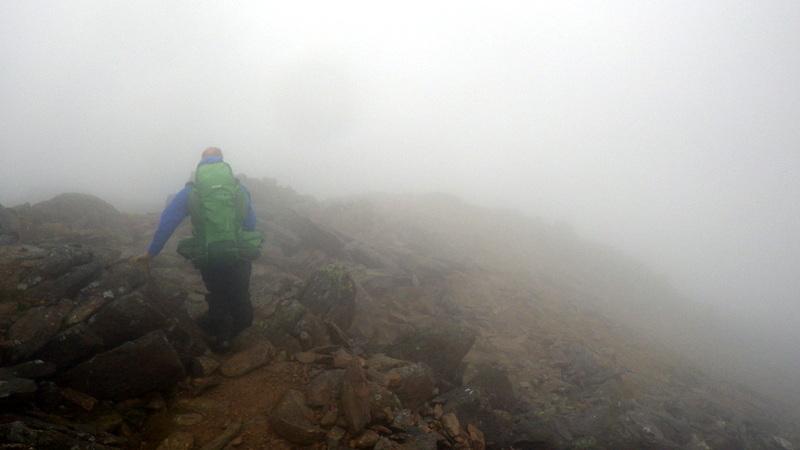 Mountain navigation skills in Snowdonia