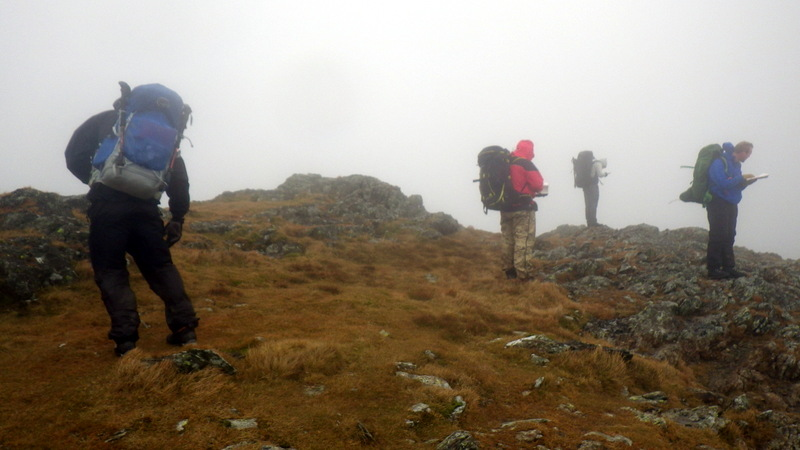 Handling poor navigation conditions in the mountains