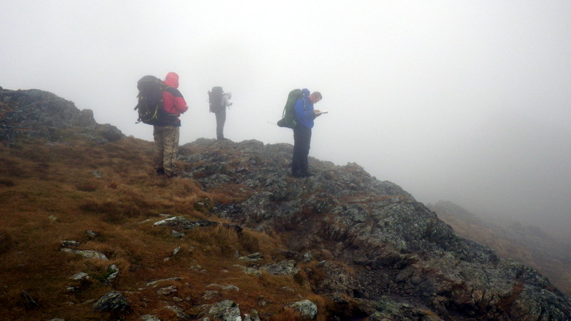 Navigation in poor visibility