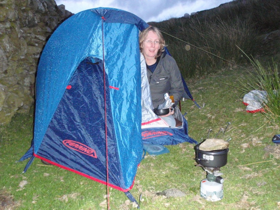 Camping skills are essential for wild camps in the mountains