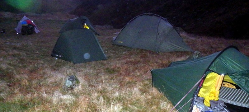 Finding a suitable camp site is important. Clean water shelter and flat