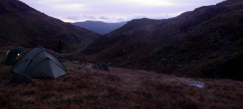 Sun rise in Snowdonia