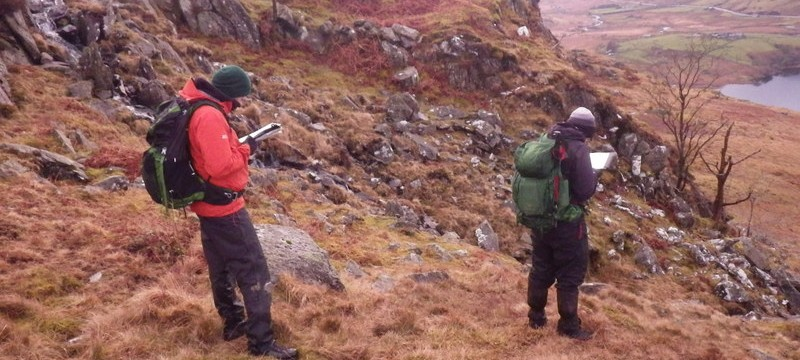 ML assessment master class in Snowdonia Micro Nav day