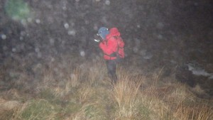 ML Training in Snowdonia handling night time navigation