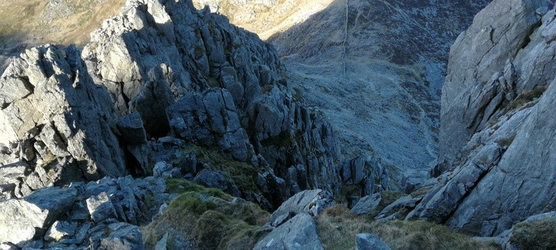 Snowdonia Glyders Bristly Ridge Gully