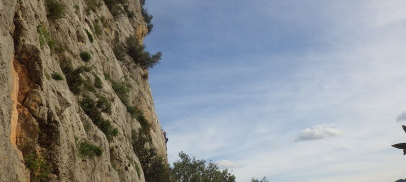 Rock Climbing on the Costa Blanca in The Xalo Valley Alcalali with Mountaineering Joe