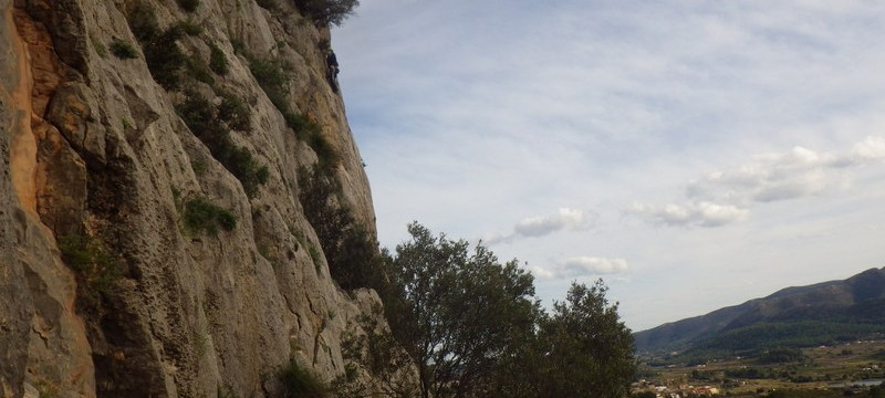 Rock Climbing on the Costa Blanca in The Xalo Valley Font d Axia with Mountaineering Joe
