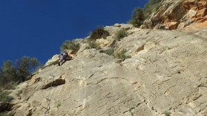 Rock Climbing on the Costa Blanca in The Xalo Valley with Mountaineering Joe