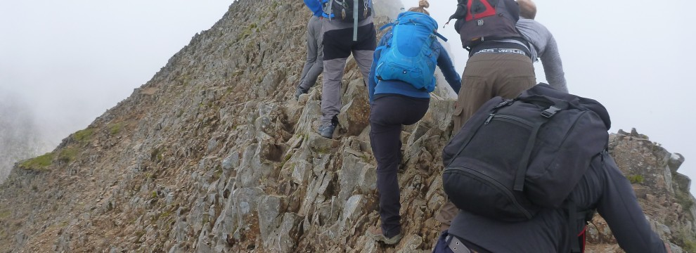 Welsh 3000s 14 peaks challenge traversing the main ridge